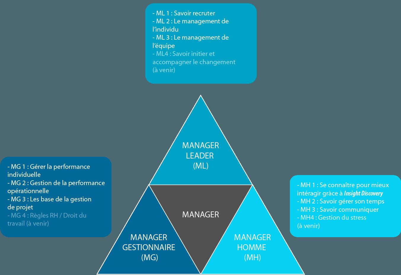 Formation en lien avec l'efficacité relationnelle et le management